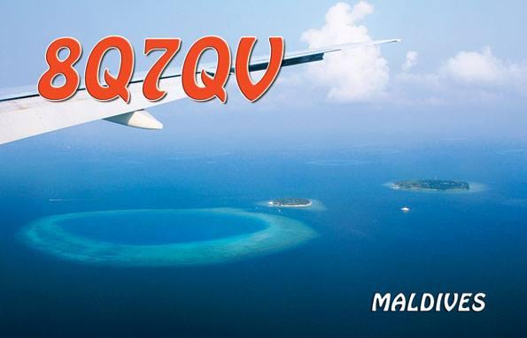 8Q7QV Fihalhohi Island QSL Maldives