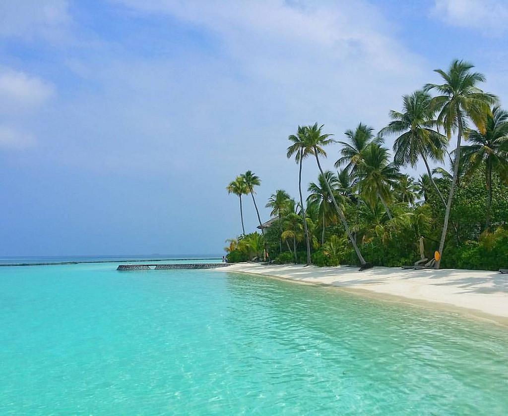 8Q7SD Halaveli Island, Atoll Alifu Alifu, Maldive Islands. Tourist attractions spot
