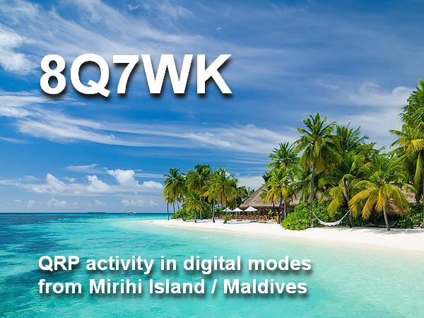 8Q7WK Остров Мирихи, Мальдивские острова