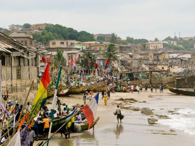 Ghana 9G5AG Tourist attractions