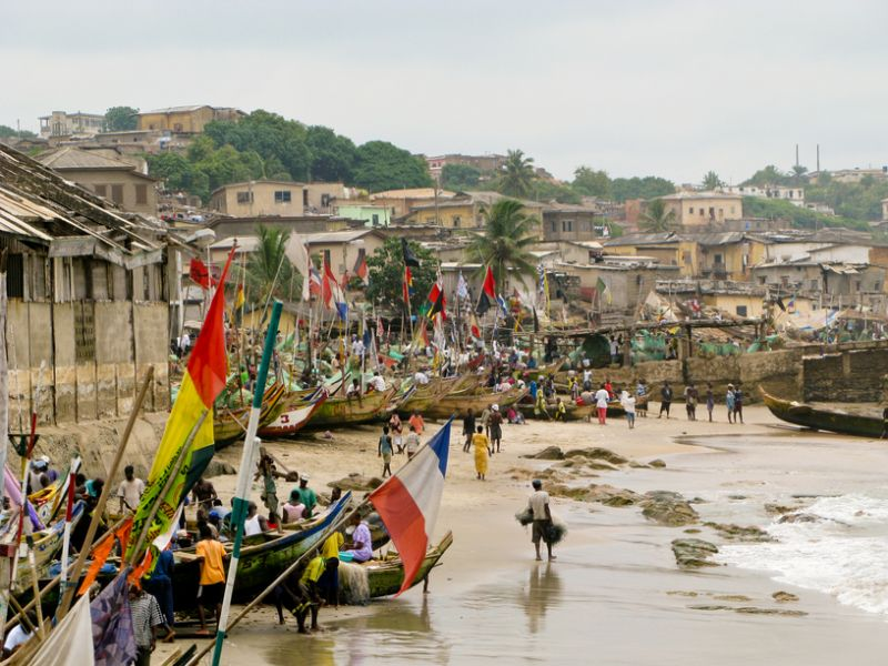 Ghana 9G5AG Tourist attractions