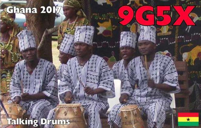 9G5X Гана 2017