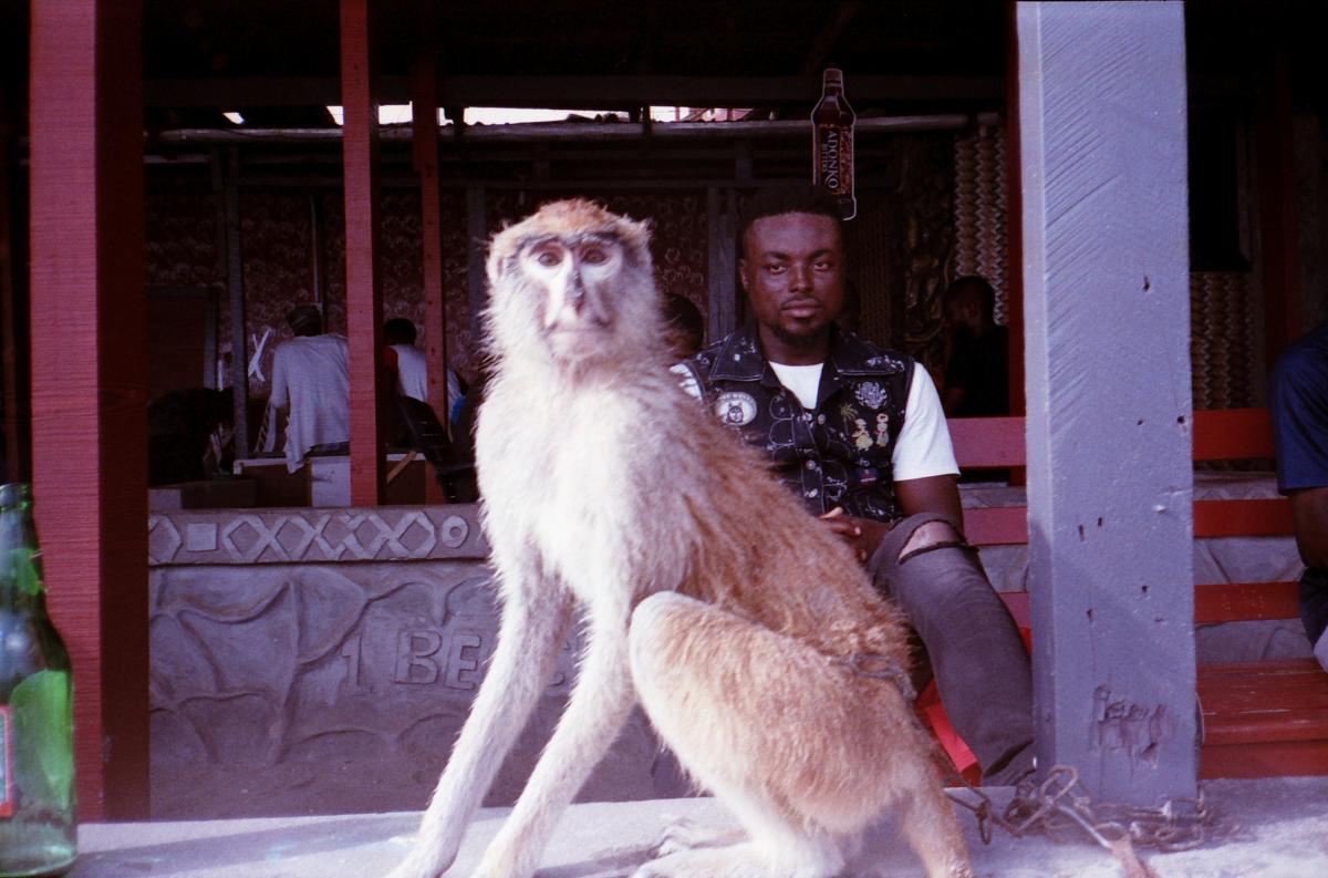 9G5GS Дансоман Бич, Гана. Туристические достопримечательности