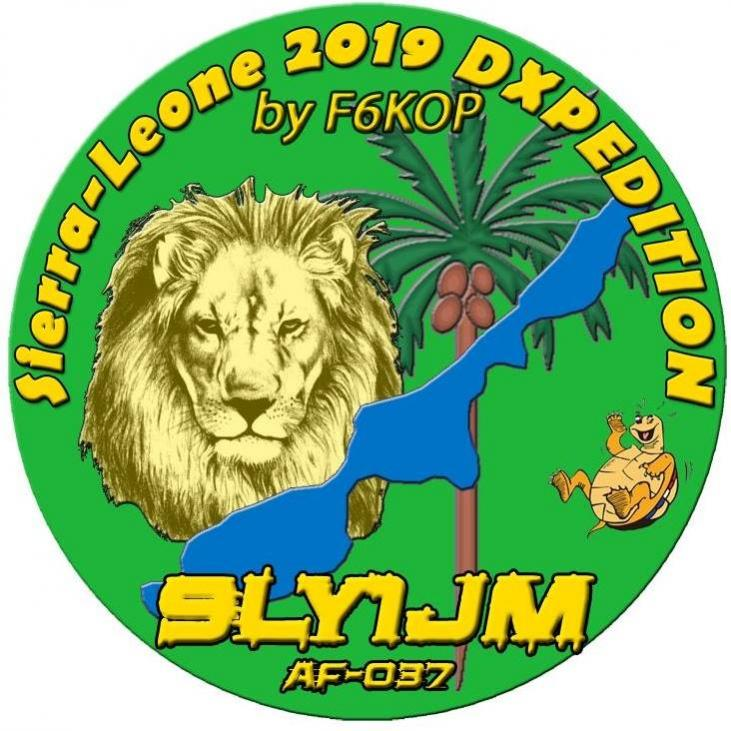 9LY1JM Banana Islands, Sierra Leone Logo