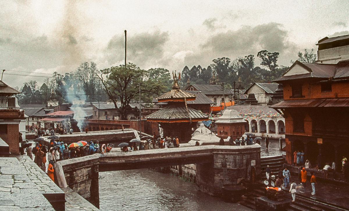 9N7BN Pashupatinath, Kathmandu, Nepal.