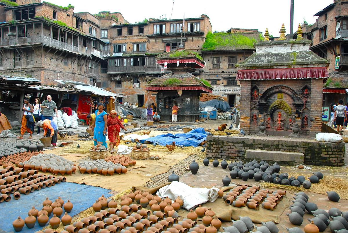 9N7GE Pottery Square, Bhaktapur, Nepal. DX News