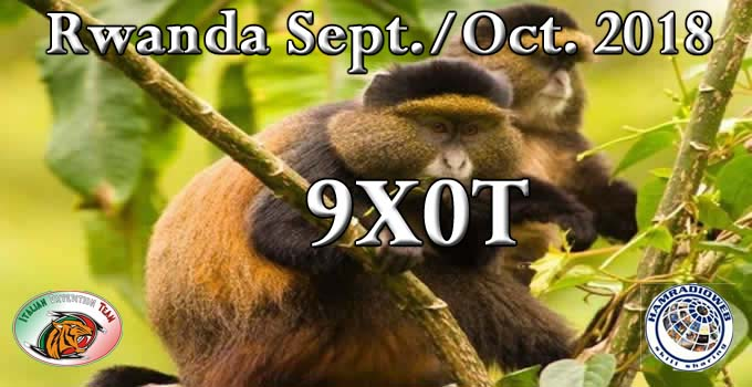 9X0T Rwanda DX Pedition Logo