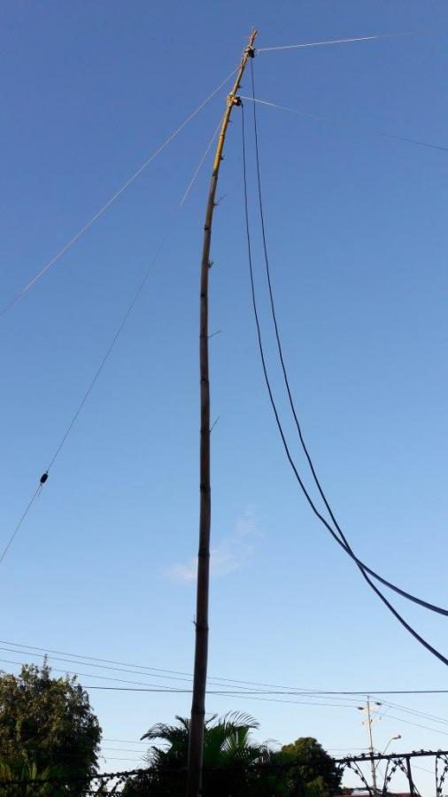 9Z4/DL9OBQ Antenna, Saint Augustine, Trinidad Island, Trinidad and Tobago.