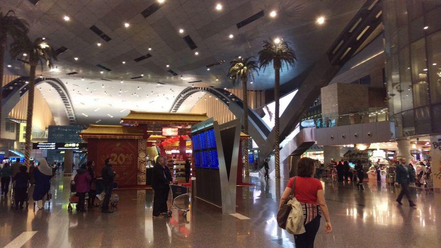 Aэропорт Хаммад Доха
