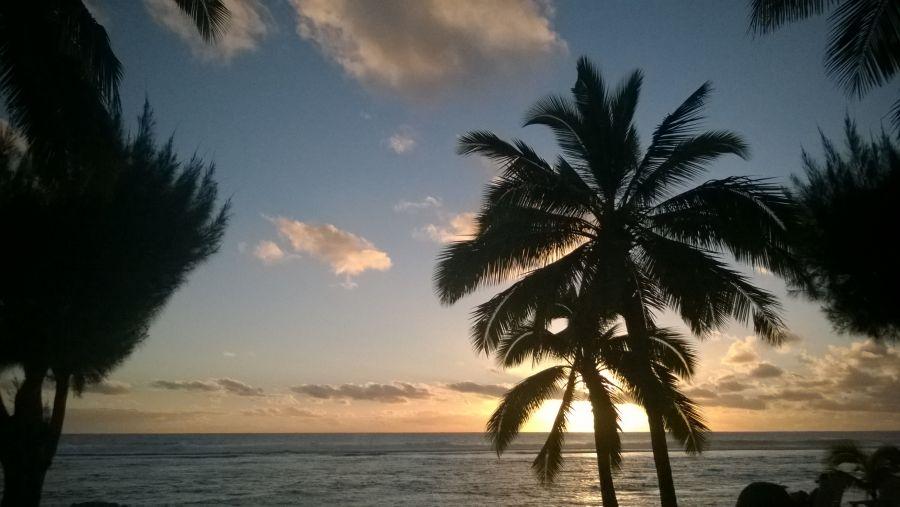 Aitutaki Island E51DWC Sunset
