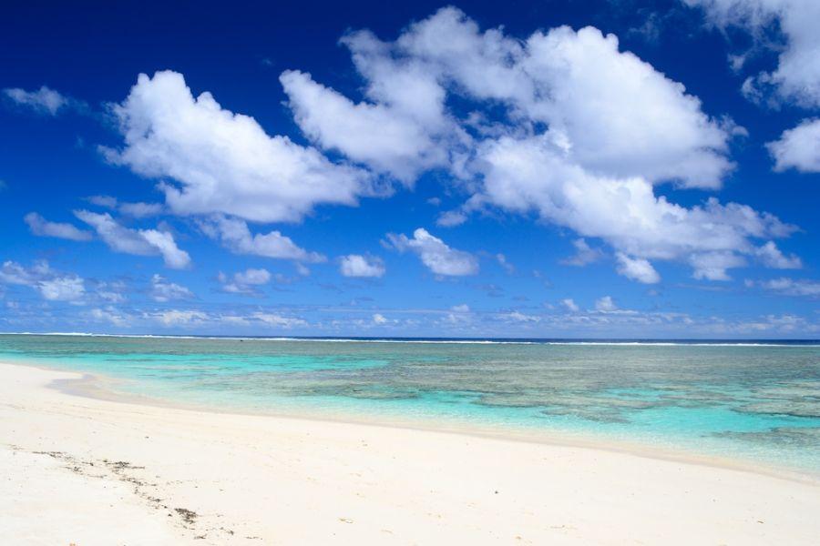 Остров Аитутаки E51WET Пляж.