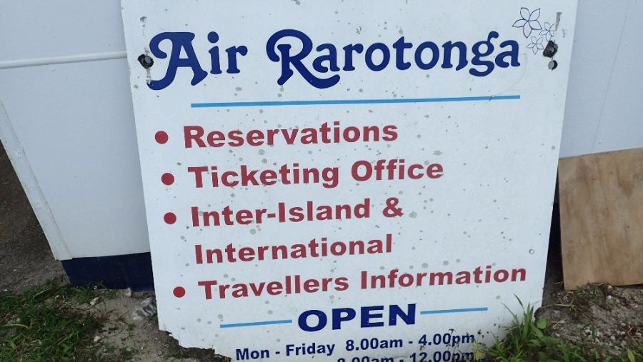 Остров Аитутаки Точка резервации билетов Аир Раротонга