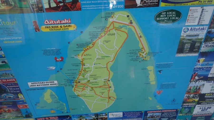 Остров Аитутаки Наглядный туристический путеводитель