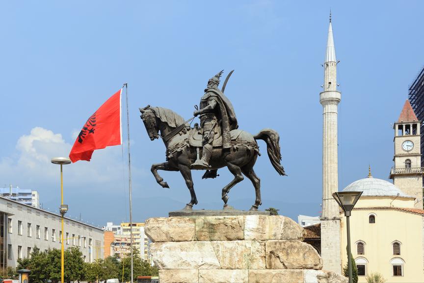 Albania ZA/YU7CM
