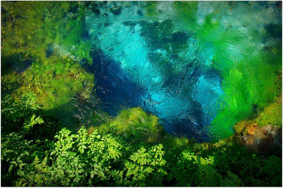 Албания ZA1P Туристические достопримечательности Голубой глаз