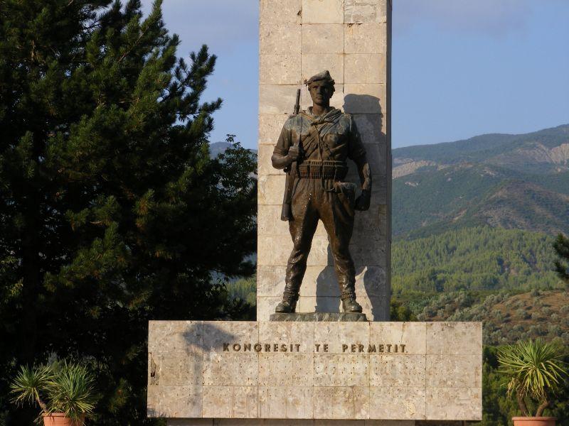 Albania ZA3/IU7GSN Tourist attractions spot Permet.