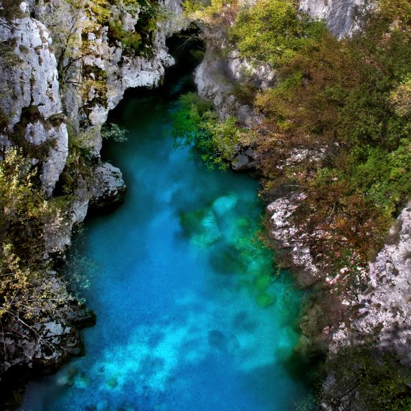 Albania ZA/OH2YY Tourist attractions spot Valbona River