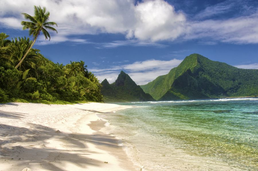 American Samoa AH0CO/KH8 Tourist attractions