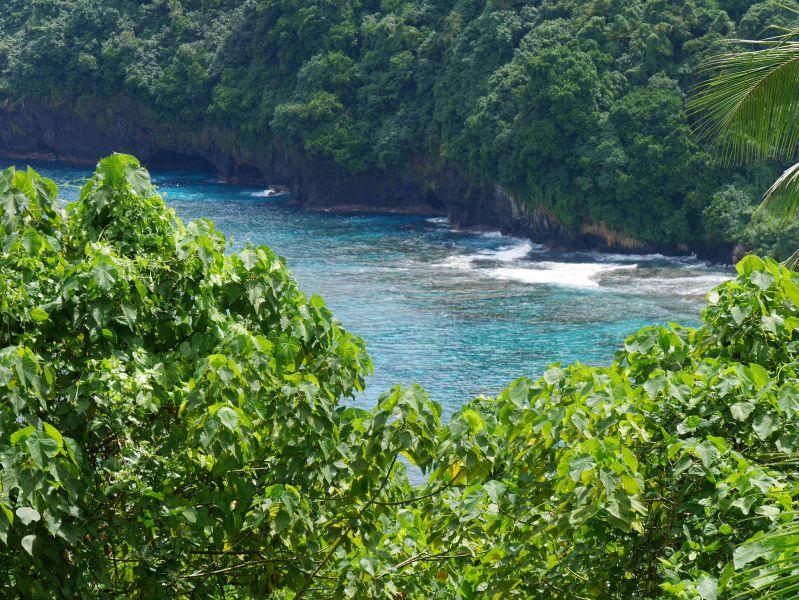 Американское Самоа WS5K/KH8 KH8/WS5K Туристические достопримечательности