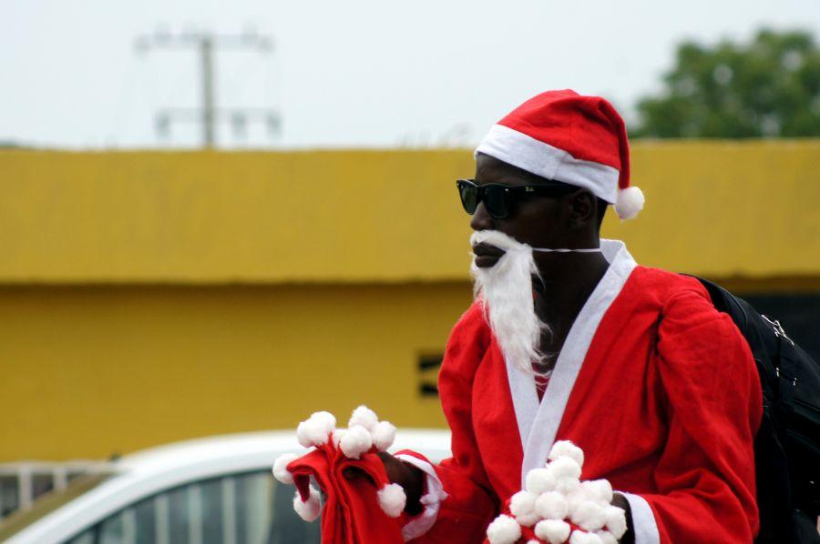 Ангола D2/CT1ITE DX Новости Ангольский Санта Клаус.