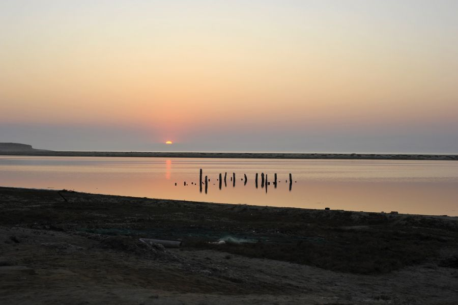 Angola D2/CT1ITE Sunset, Pôr-do-Sol - Namibe.