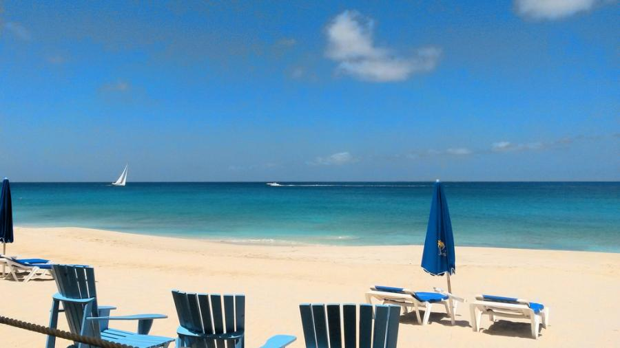 Остров Ангилья VP2EGR Пляж
