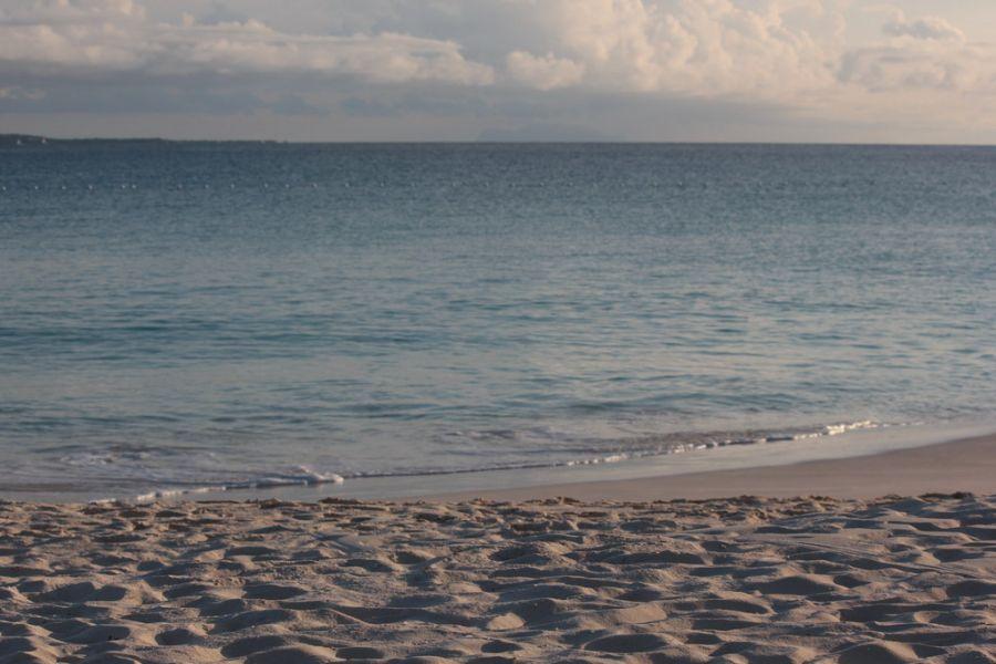 Anguilla Island VP2ENK VP2ECC Beach at Maundays Bay, Cap Juluca