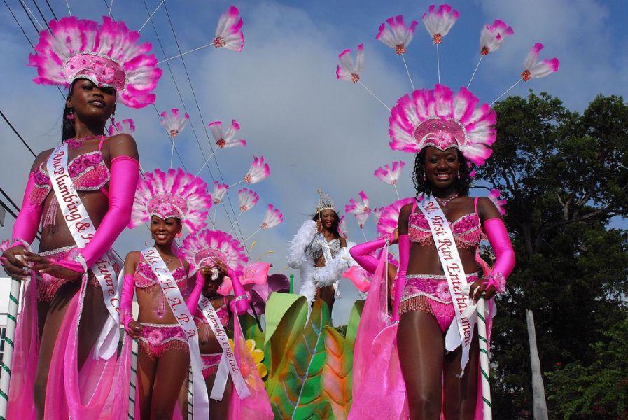 Острова Антигуа и Барбуда V26IS Карнавал