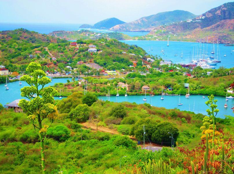 Antigua Island V25LK Tourist attractions spot