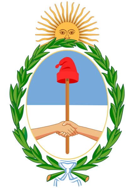 Argentina Coat of Arms Bicentennial Independence
