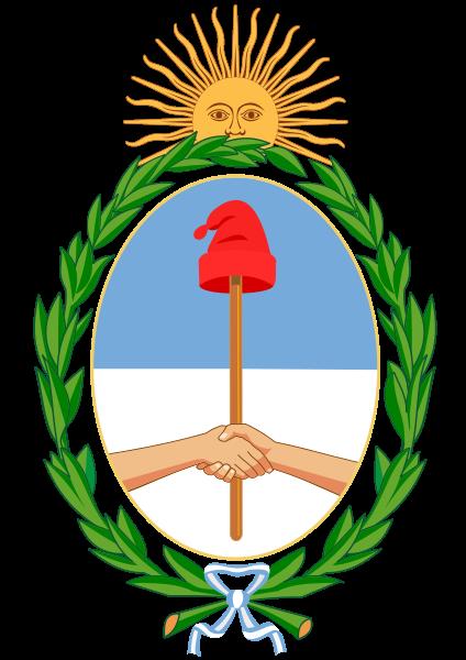 Argentina Coat of Arms Bicentennial Independence