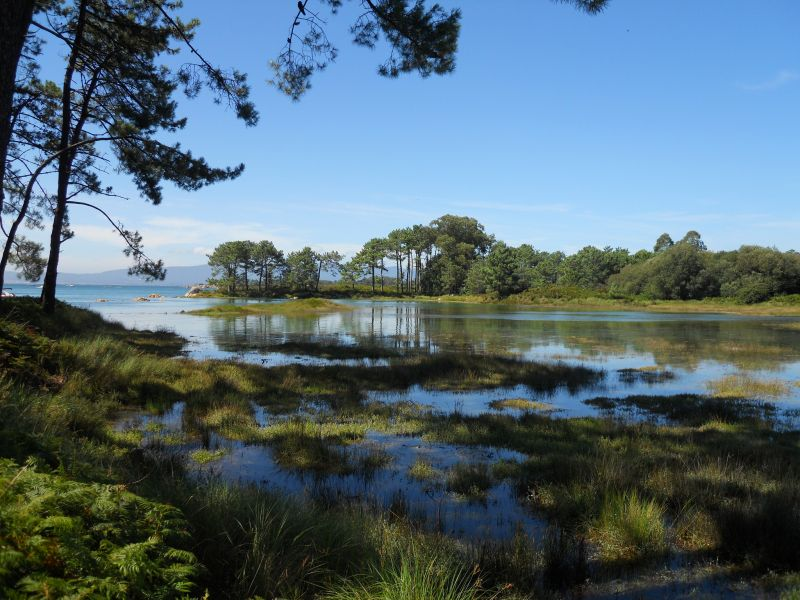 Остров Ароса EG1PAA Туристические достопримечательности Национальный парк до Карреирон.