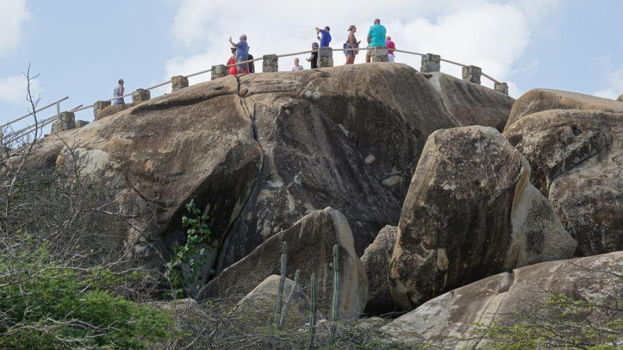Aruba P4/WA2NHA Tourist attractions spot Casibari Rock
