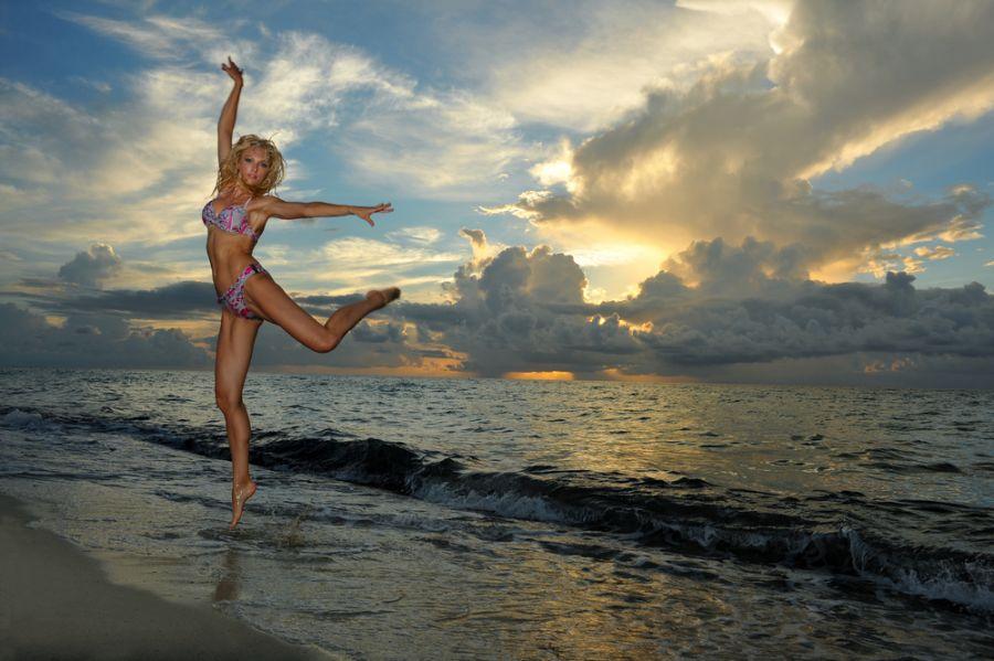 Aruba P40W Tourist attractions spot Girl