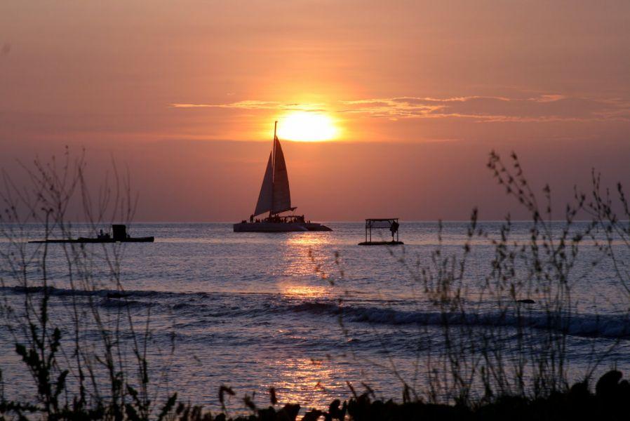 Aruba P4/DK3YD DX News Sunset