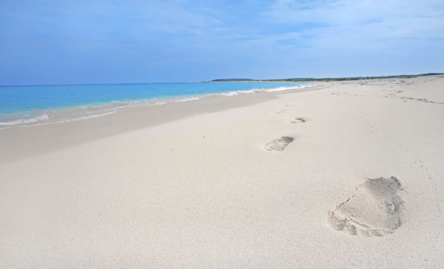 Aruba P4/DK7MCX Tourist attractions spot Footprints