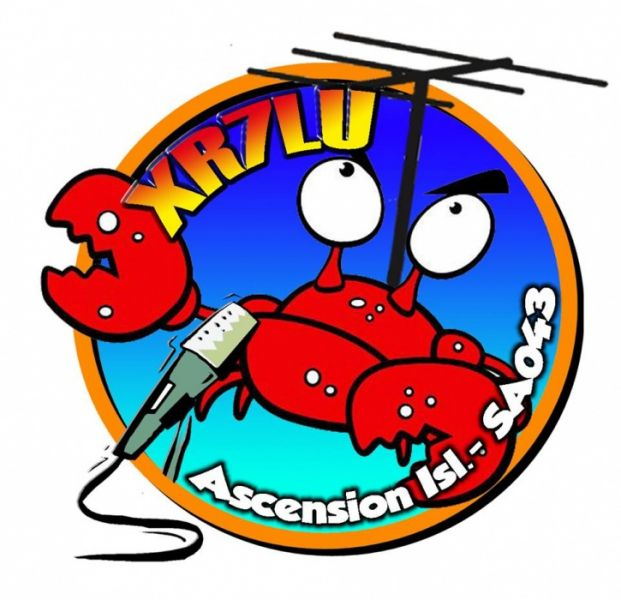 Ascension Island Guaitecas Archipelago XR7LU Logo