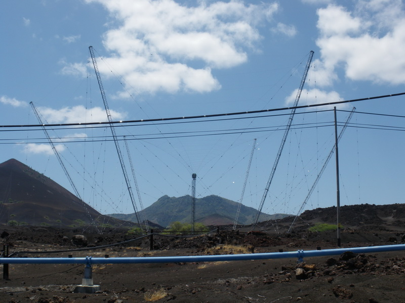 Ascension Island ZD8RG Antennas