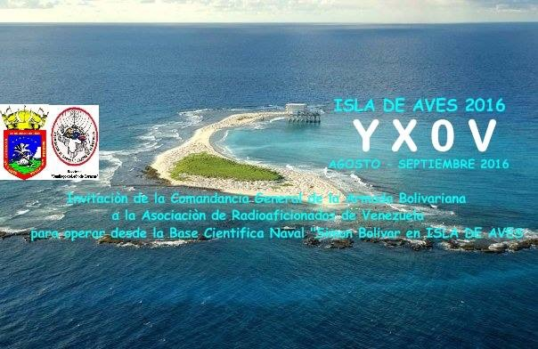 Aves Island YX0V DX News
