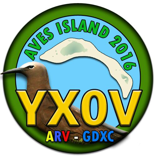 Aves Island DX Pedition YX0V Logo