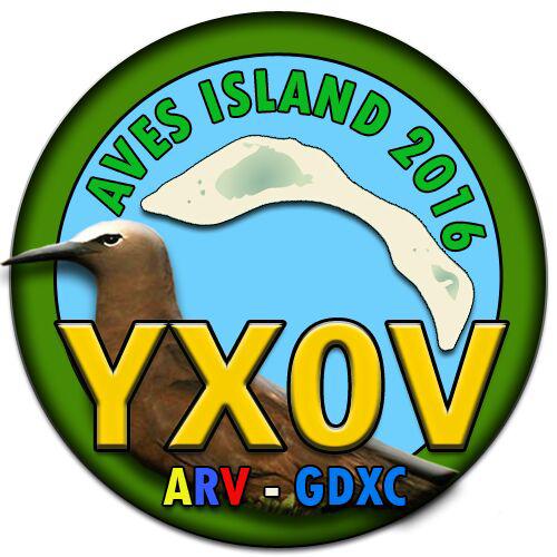 Aves Island DX Pedition YX0V Logo