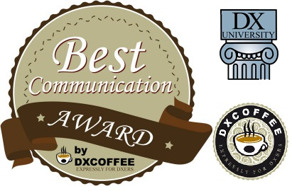 DX Coffee DX University Best Communication Award