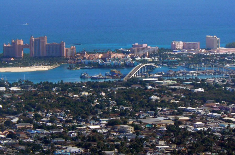 Багамские острова C6AMW C6ATW DX Новости Нассау Отель Атлантис