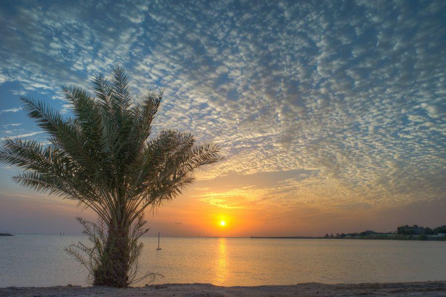 Bahrain A96A Sunset.