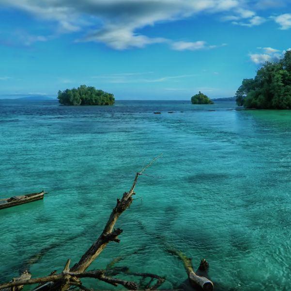 Остров Банггай YB8RW/P YB8OUN/P Острова Банггай Туристические достопримечательности