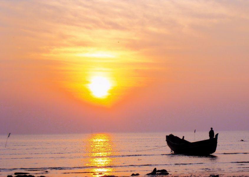 Bangladesh S21ZBA Tourist attractions spot Morning light.