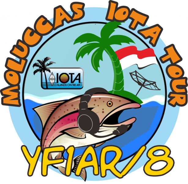 Barat Daya Islands YF1AR/8 Logo