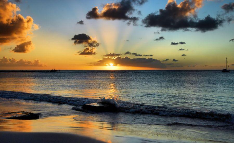 Barbados 8P1W Sunset Steps.