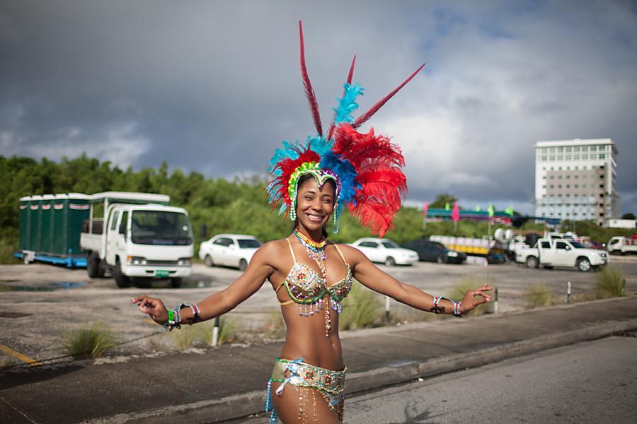 Барбадос 8P50B 50 лет независимости Добро пожаловать