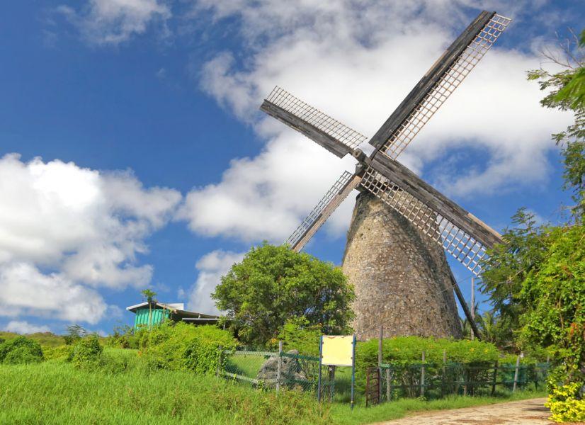 Барбадос 8P9EZ Ветрянная мельница